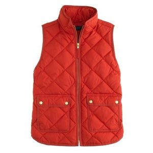J.Crew Excursion Vest in Red